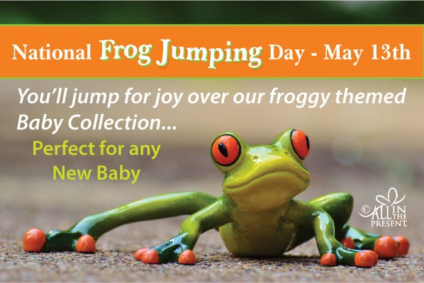 National Frog Jumping Day - May 13th